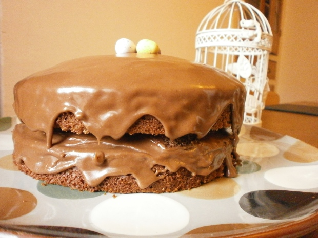 Recipe Quick And Easy Easter Chocolate Sponge Cake