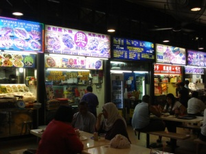 Typical 'Hawker' stalls