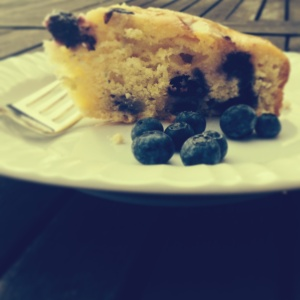 Blueberry and lemon cake 2