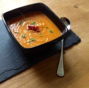 Chilli Chorizo and Butternut Squash Soup 2