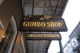 Gumbo Shop Sign
